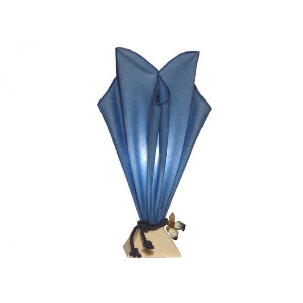 lampe de chevet bleue lampe de salon artisanat d 39 art. Black Bedroom Furniture Sets. Home Design Ideas